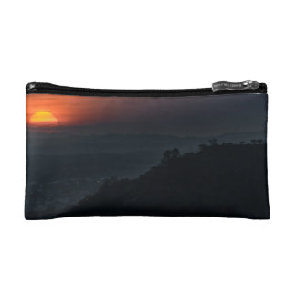 Guayaquil Aerial Landscape Sunset Scene Cosmetic Bag