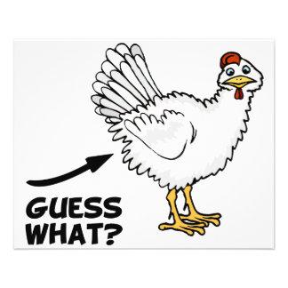 Guess What Chicken Butt Flyer