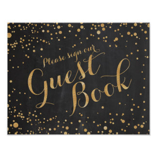 Guest Book Wedding Sign