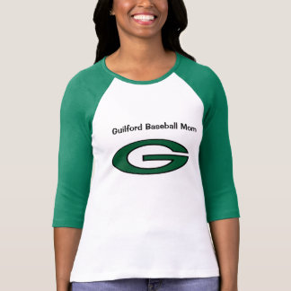 Guilford Baseball Mom T-Shirt
