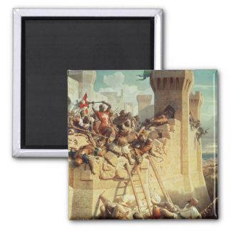 Guillaume de Clermont defending Ptolemais Magnet