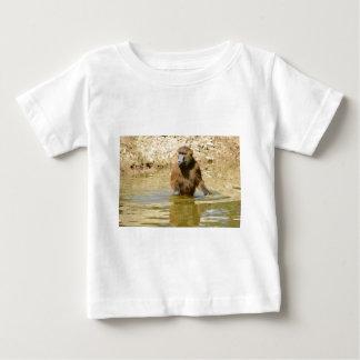 Guinea baboon in water baby T-Shirt