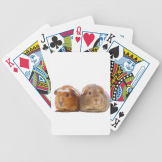 Guinea Pig Bicycle Playing Cards