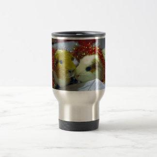Guinea pig Christmas mug