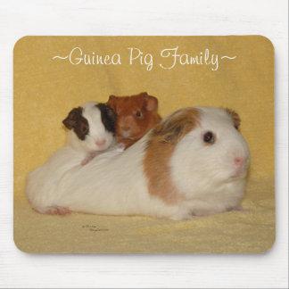 Guinea Pig Family Mousepad