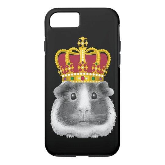 Guinea Pig in a Crown iPhone 8/7 Case