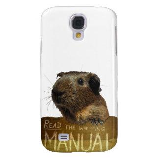 Guinea Pig Manual Galaxy S4 Cover
