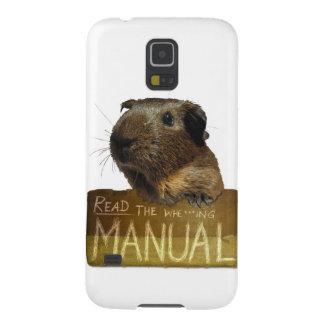 Guinea Pig Manual Galaxy S5 Cover