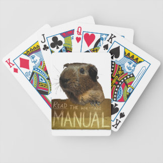 Guinea Pig Manual Bicycle Poker Cards