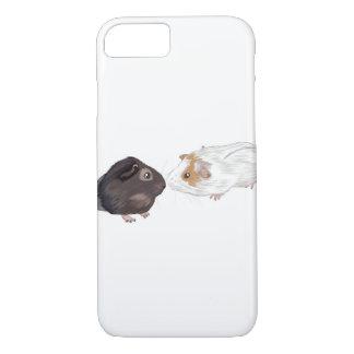 Guinea Pig Phone Case, Guinea Pig Illustration iPhone 8/7 Case