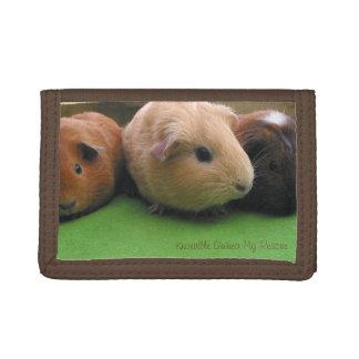Guinea Pig Trio Wallet