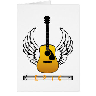 Guitar Angel - Epic Card