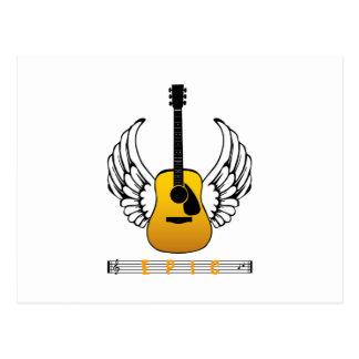 Guitar Angel - Epic Postcard