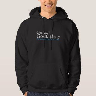 Guitar, Godfather, AngeloDeStefano.com Hoodie