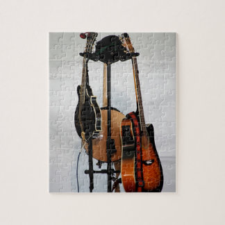 Guitar Musical Instruments Jigsaw Puzzle