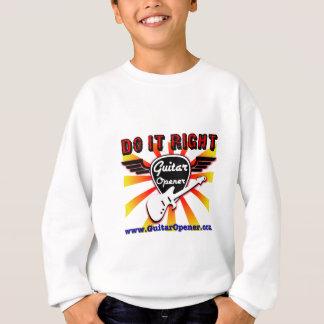 Guitar Opener - Do it right Sweatshirt