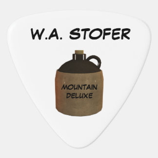 GUITAR PICK FROM W.A. STOFER MOUNTAIN DELUXE