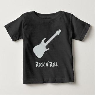 Guitar Silhouette Rock n Roll Baby T-Shirt