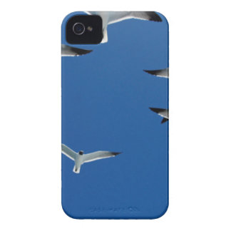 gulls in the sky iPhone 4 covers