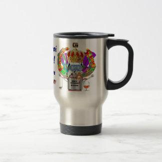 Gumbo King Mardi Gras View Hints please Coffee Mugs