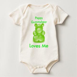 gummy bears, gummy bears, Pappy Gummybear , Lov... Baby Bodysuit