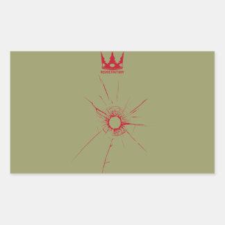 Gun mark (red)