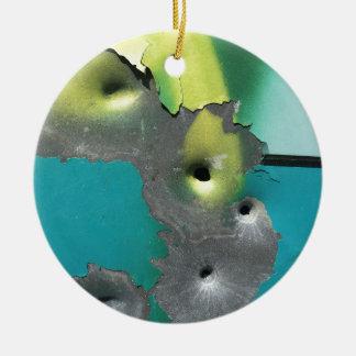 Gun Shots Christmas Ornament