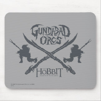 Gundabad Orcs Movie Icon Mouse Pad