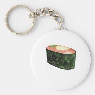 Gunkan Quail Egg Sushi Basic Round Button Key Ring