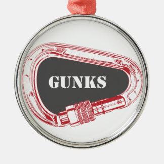 Gunks Climbing Carabiner Christmas Ornament