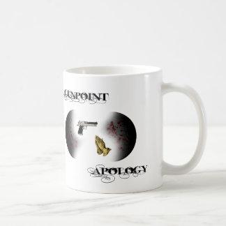 Gunpoint Apology Basic White Mug