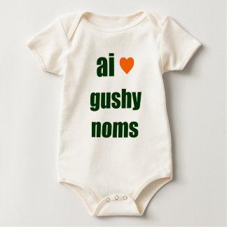 Gushy Noms Baby Bodysuit