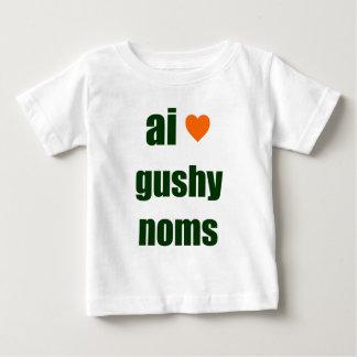 Gushy Noms Baby T-Shirt