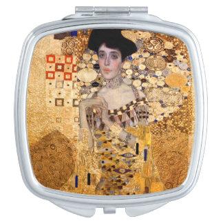 Gustav Klimt, 1907 Portrait of Adel Bloch Bauer. Mirrors For Makeup