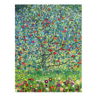 Gustav Klimt: Apple Tree Postcard