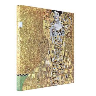 Gustav Klimt - Portrait of Adele Bloch-Bauer Stretched Canvas Print