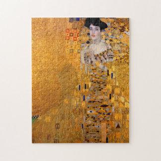 Gustav Klimt Portrait Puzzle
