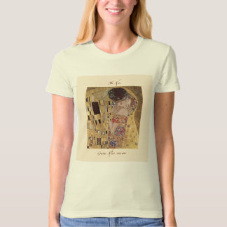 Gustav Klimt The Kiss 1907-08 T Shirt