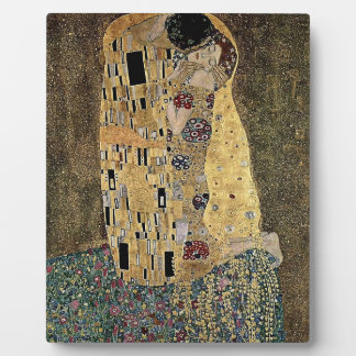Gustav Klimt's The Kiss (circa 1908) Plaque