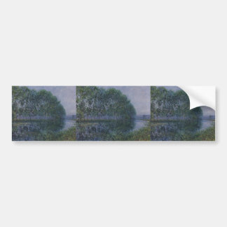 Gustave Loiseau- By the Eure River in Summer Bumper Sticker