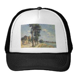 Gustave Loiseau- Quay at Dieppe Mesh Hats
