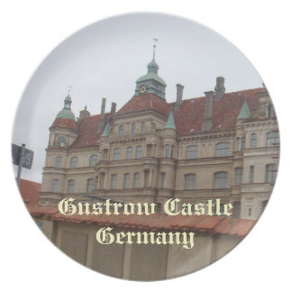 Gustrow Castle Germany Party Plate