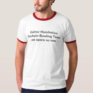 Gütter Hümiliation Duckpin Bowling Shirt