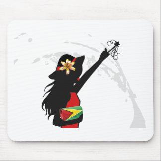 Guyana Girl Mousepad