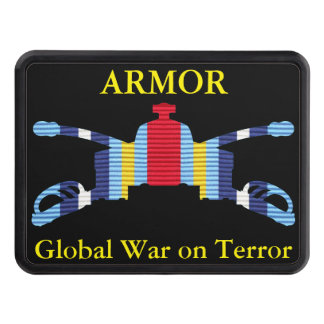 GWOT Ribbon Armor Hitch Cover