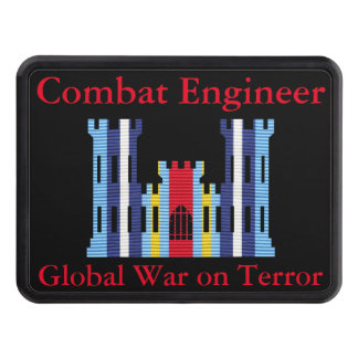 GWOT Ribbon Combat Engineer Hitch Cover