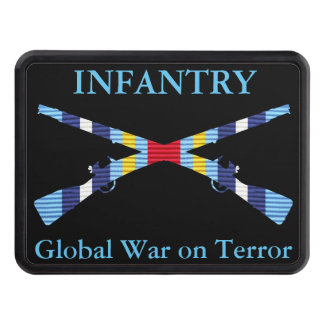 GWOT Ribbon Infantry Hitch Cover