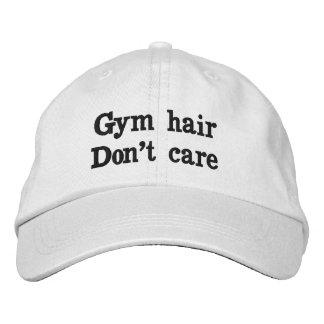 Gym Hair Don't Care Baseball Cap
