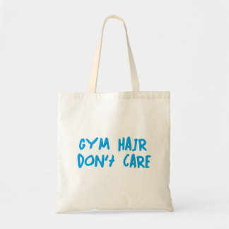 Gym Hair Don't Care Tote Bag