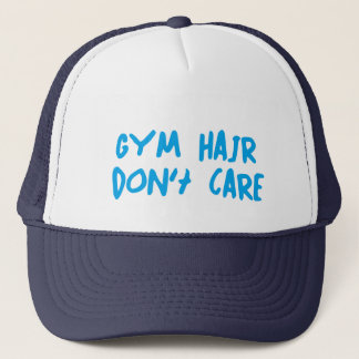 Gym Hair Trucker Hat